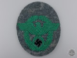 A Second War German Police Sleeve Eagle
