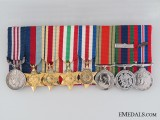 A Second War Miniature Military Medal Group