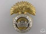A Second War Princess Louise Fusiliers Cap Badge