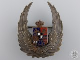 A Second War Romanian Air Force Observer's Badge