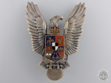 A Second War Royal Romanian Pilot's Badge