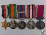 A Second War Royal Canadian Artillery Long Service Group