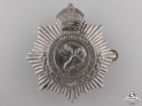 A Second War Sault Saint Marie & Sudbury Regiment Cap Badge