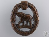 A Second War South African Native Military Corps Cap Badge