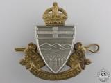 A Second War South Alberta Regiment Cap Badge