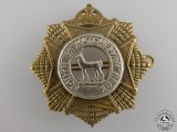 A Second War South Saskatchewan Regiment Cap Badge
