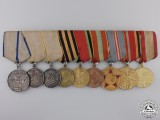 A Second War Soviet Group of Nine Awards
