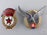 A Set of European Military Badges