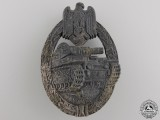 A Silver Grade Tank Badge by Rudolf Richter, Schlag