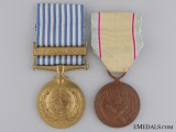 A South Korean UN Campaign Medal Pair