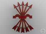 A Spanish Falange Officer's Cap Badge