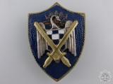 A Spanish Falange Army Badge