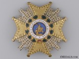 A Spanish Royal Order of St.Hermengildo; Breast Star Second Class
