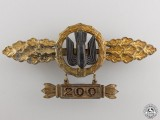 A Squadron Clasp for Bomber Pilots; Gold Grade by Richard Sieper & Söhne