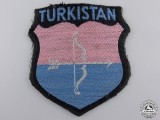 A Turkistan Volunteer Arm Shield, Second Pattern (1943)