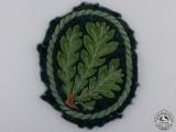 A Uniform Removed German Jager Regiment Cloth Patch