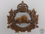 A Winnipeg Light Infantry Cap Badge