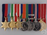 A WWII Canadian Group of Seven to Corporal G. Holloway