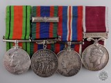A Second War Long Service Group to Royal Canadian Pay Corps