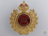 A WWII Toronto Active Service Canteen Volunteer Worker Badge 1939-1945