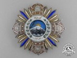 An Superb French-made Iranian Order of Pahlavi; 1st Class Breast Star