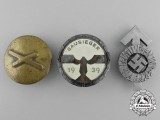 A Lot of Three Second War German Badges and Decorations