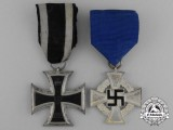 Two German Medals & Awards