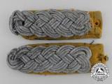 A Set of Uniform Removed Luftwaffe Major's Flight Shoulder Board Pair