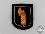 A Mint Waffen-SS Italian Foreign Volunteer Sleeve Shield