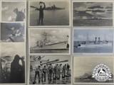 Nine Wartime Kriegsmarine Postcards