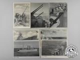 Seven Kriegsmarine Propaganda Postcards