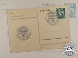 A 1938 Munich Beer Hall Putsch Movement Postcard