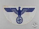 A Large Kriegsmarine Sports Shirt Eagle Insignia