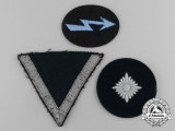 A Lot of Three Wehrmacht Heer (Army) Insignia
