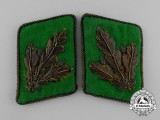 An Unissued & Rare Pair of SS-Police General Major's Collar Tabs