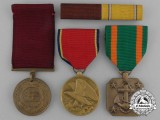 Three American Navy & Naval Reserve Awards
