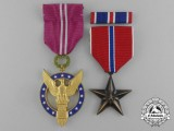 Two American Gallantry Awards