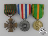 Three French Medals and Awards
