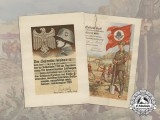 Two Award Documents to Heinrich Weber; RAD & Shooting Badge 1st Class