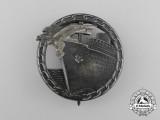An Early War Quality Blockade Runner Badge