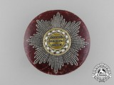 A Fine 1840's Saxon Order of Rue Crown with Case