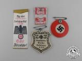 Four Third Reich Period Badges