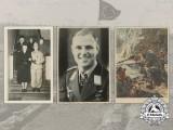 Five Second War German/Austrian Photographs and Picture Postcards