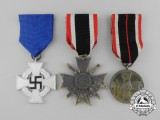 Three Second War German Medals and Awards
