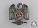 A 1935 Swabia SA Brigade 86 Meeting Badge by Carl Poellath of Schrobenhausen