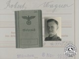 """An Extensive Document Group to SS-Rottenführer of SS """"Totenkopf"""" & SS Panzer """"Wiking"""""""