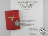 A Fine Order of the German Eagle with Award Document; Spanish Recipient