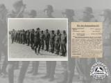 An Official Press Photo of Knight's Cross Recipient Lieutenant Arthur Jahnke