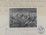 An Official Press Photo of the 1942/43 War Winter Relief Speech