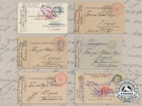 A Group of First War Austrian Feldpost & Russian POW Cards to Zagreb